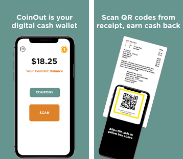 Get Cashback On All Of Your Receipts With Coinout
